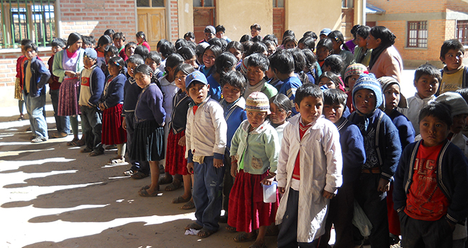 Dona un sorriso in Bolivia
